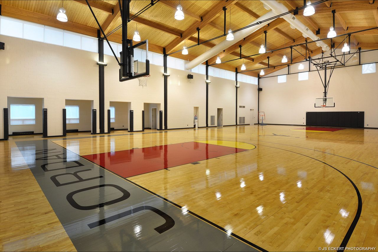 Michael Jordan Built This Full Size, Regulation Basketball Court In His  Chicago Suburb Home