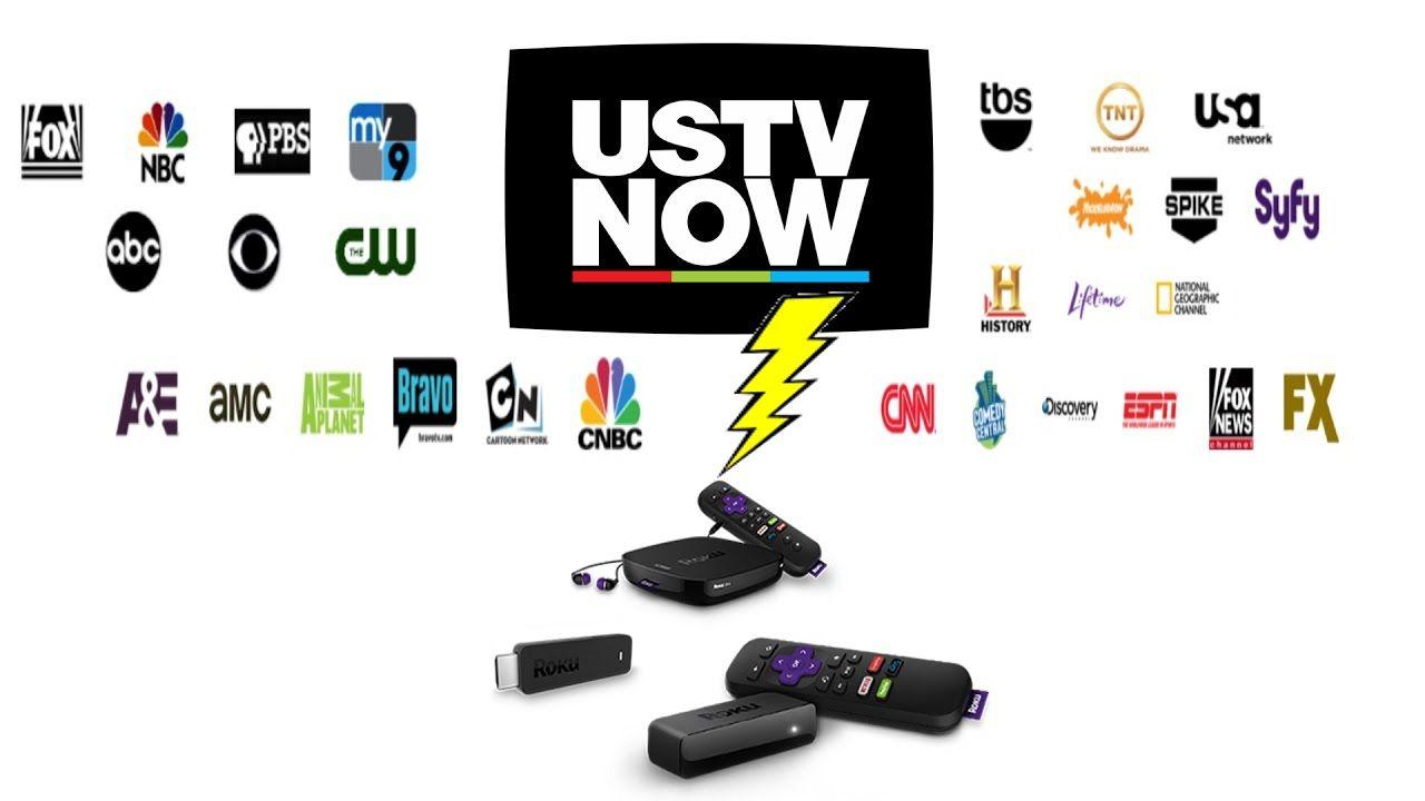 USTVnow Roku App Sideload Live TV Roku, Live tv, Tvs