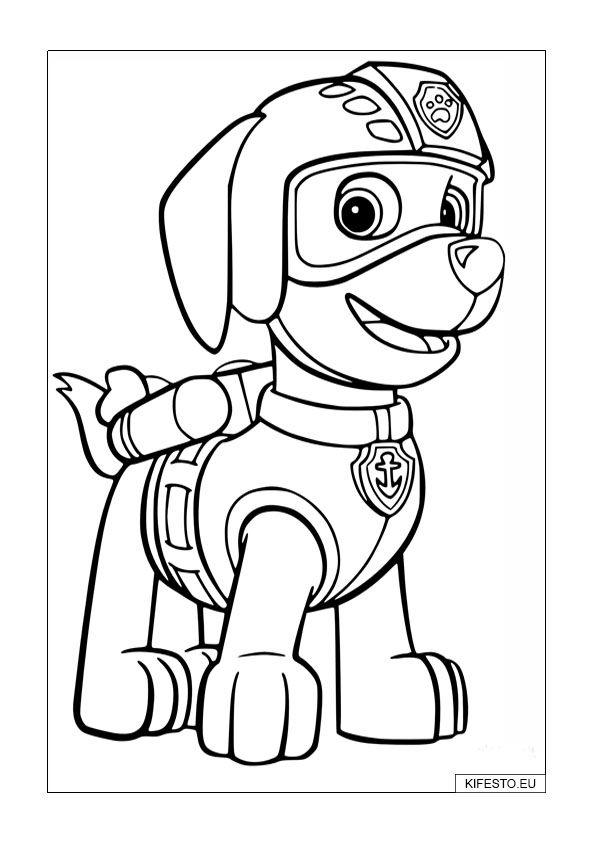 merpups coloring pages - photo#25