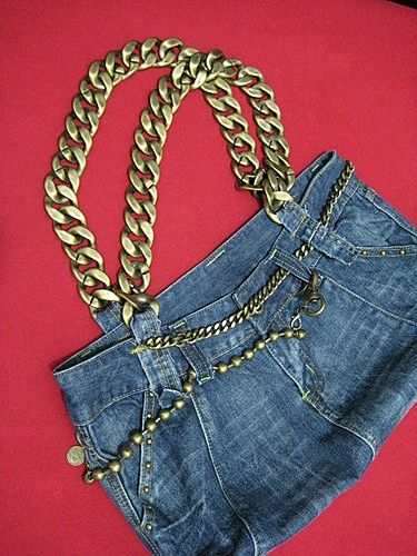DIY Denim Bag