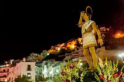 Image result for San Sebastián fiesta frigiliana