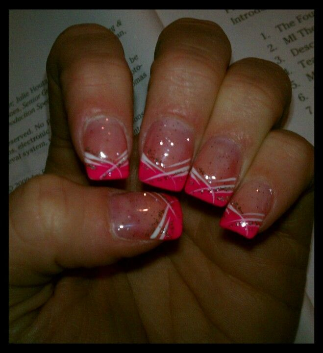 Pin By Dawne Long On Marcy Nail Tip Designs French Nails Nail Designs