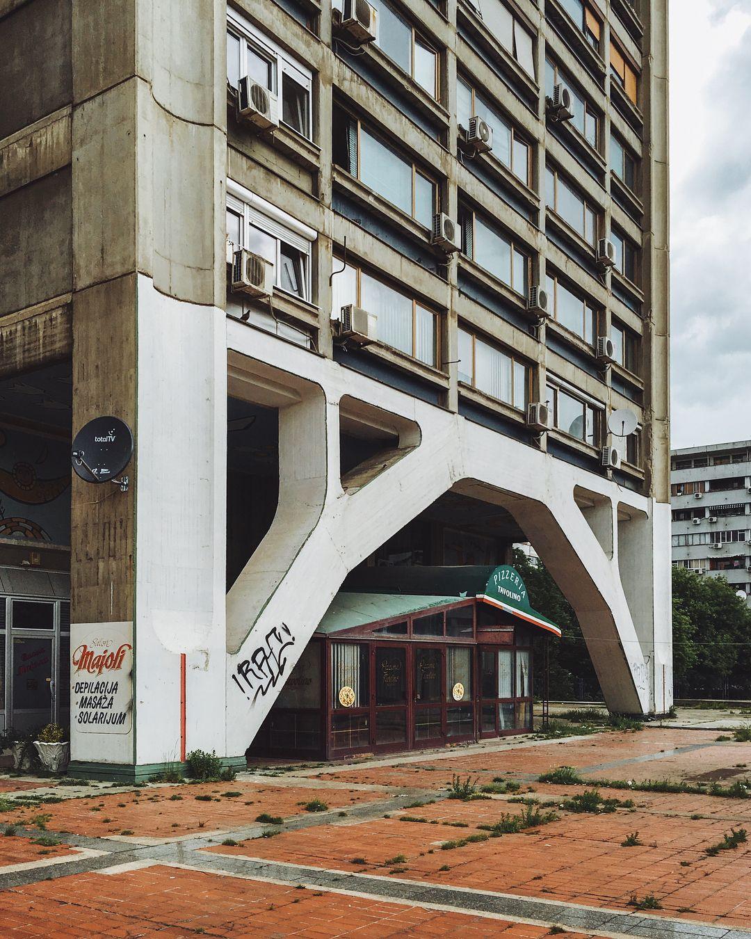 Pin By Bojan Stricevic On Najbolji Grad Na Svetu Beograd Brutalist Architecture Concrete Architecture Brutalist