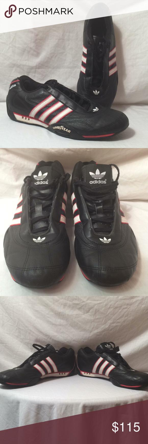Vintage Adidas Goodyear racer sneaker