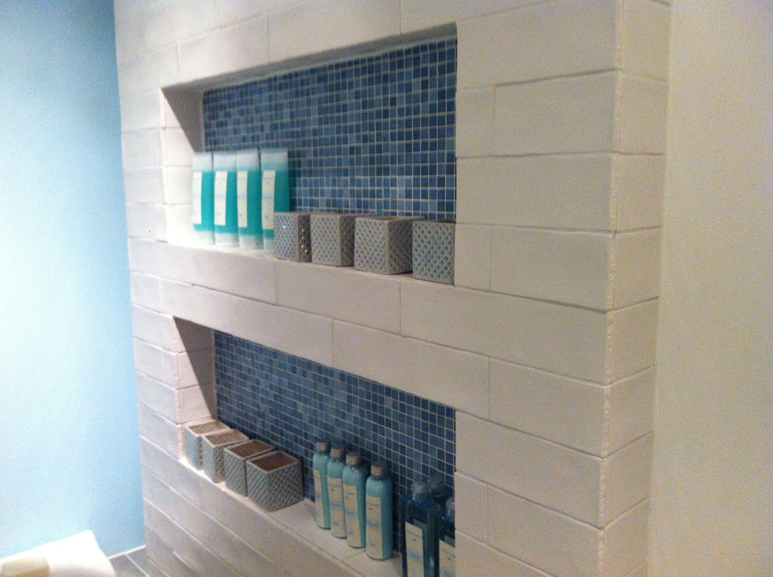 Backsplash tiles 7.5 x 30 cm Brugman badkamer - Amsterdam | Bad ...