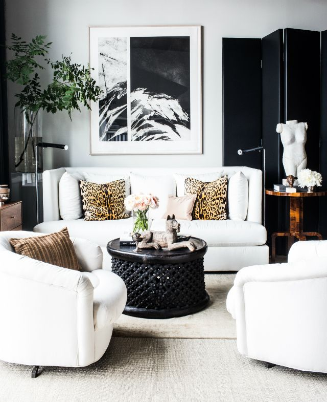 15 Black And White Living Room Ideas Black White Living Room