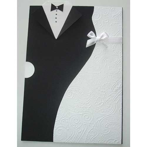 50 Incríveis Convites De Casamento Simples E Barato De Fazer B