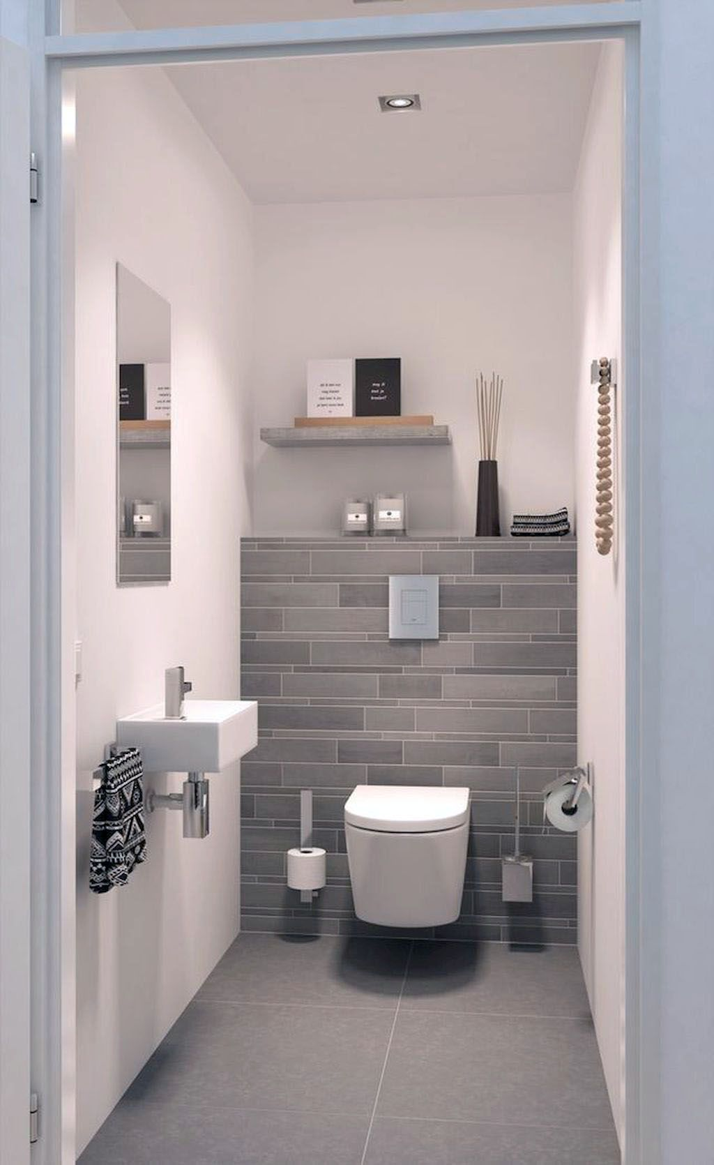 6 Bathrooms With Amazing Tile Flooring (With images) | Toilet ...