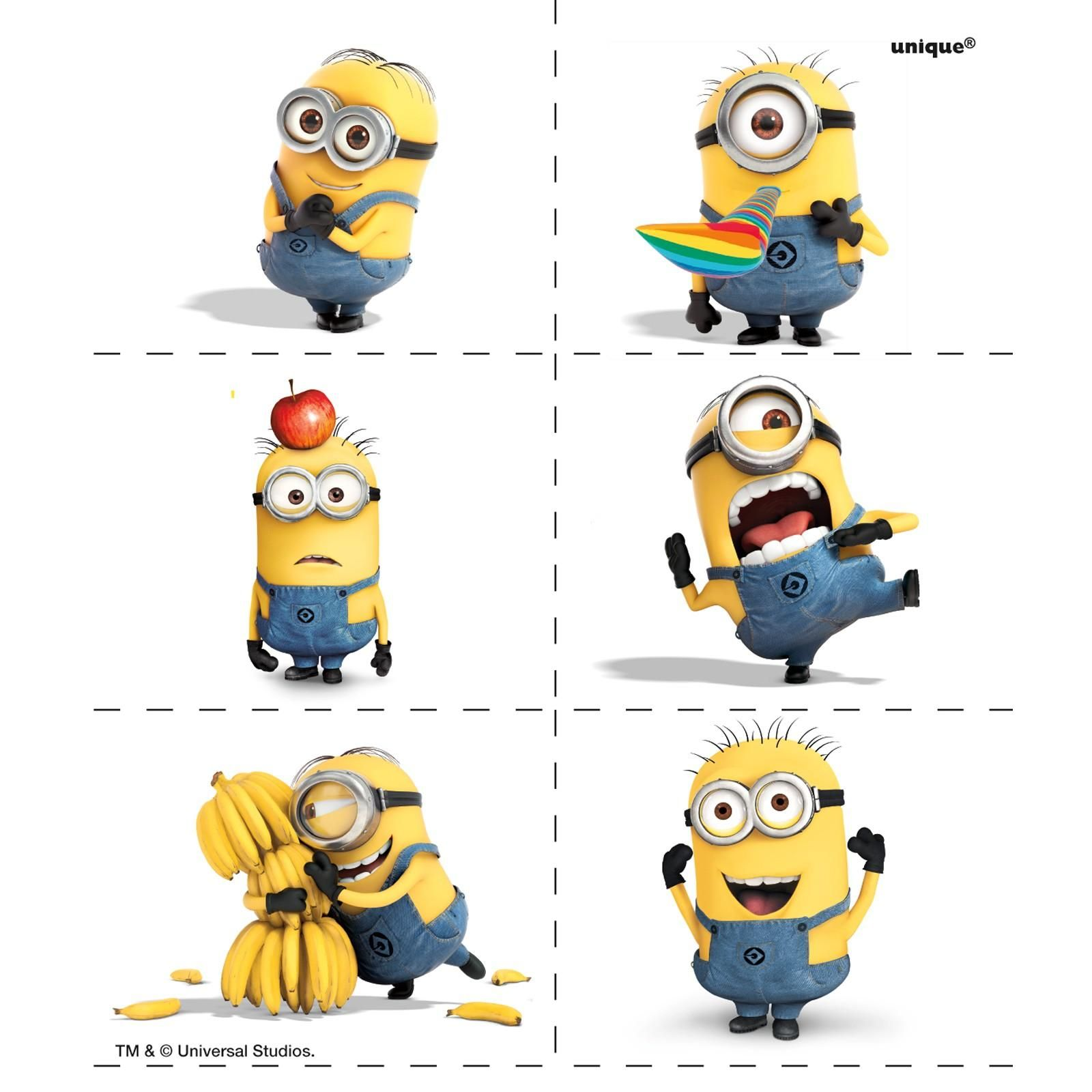 Despicable Me Tattoo 4 Sheets