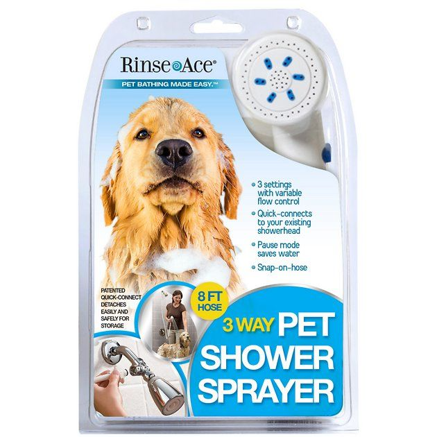 Make Bath And Grooming Time A Breeze With The Rince Ace 3 Way
