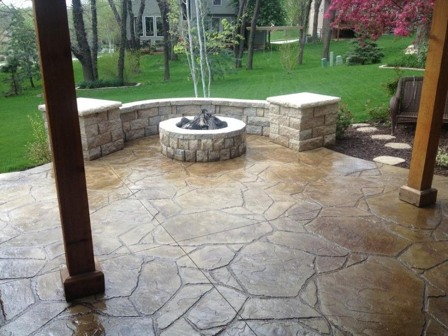 Like The Curve Of This Fire Pit Outdoor Living In 2019