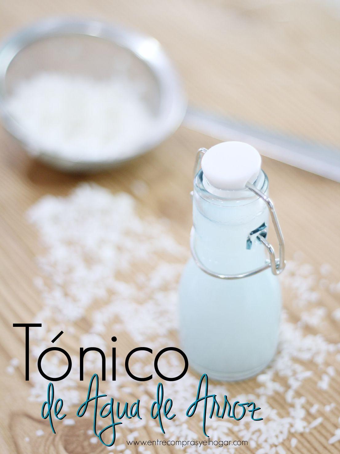 Como Hacer El Mejor Tonico Facial De Agua De Arroz Con Imagenes