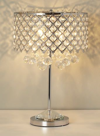 Chrome Petra Table Lamp Table Lamps Lighting Bhs Lampshade For