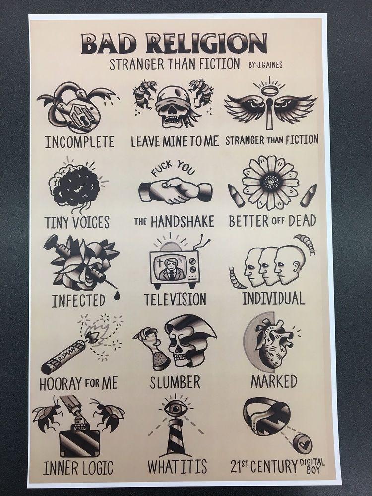 Punk rock tattoo ideas
