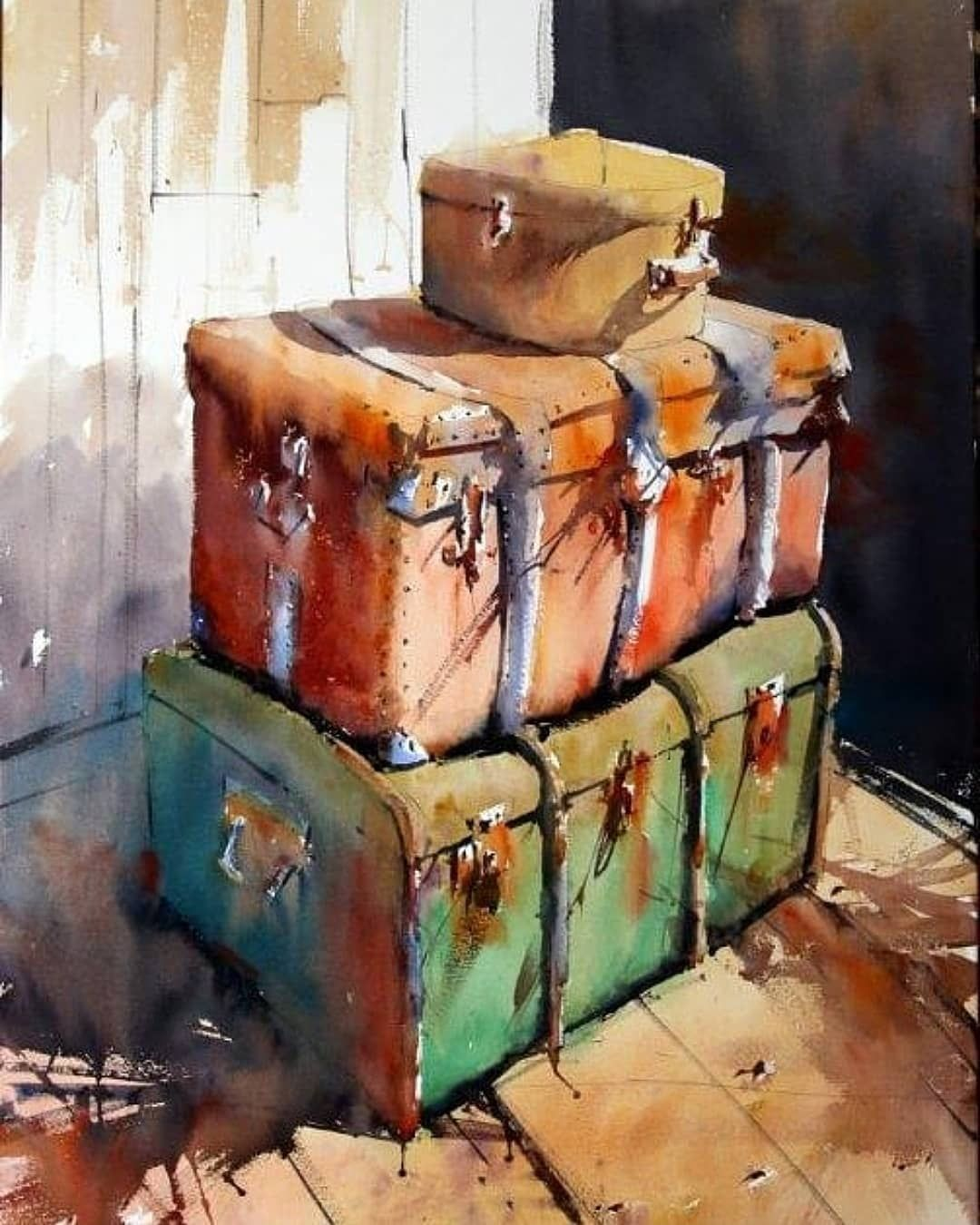 Watercoloris Idees D Aquarelle Peinture A L Huile