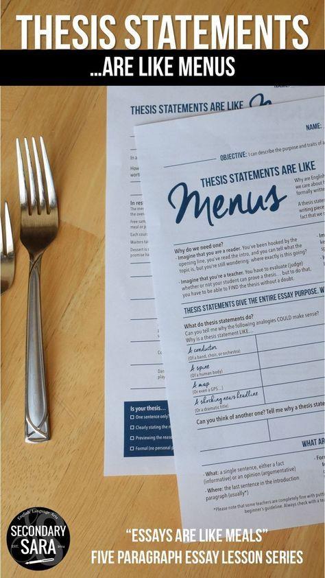 Thesis custom css menu