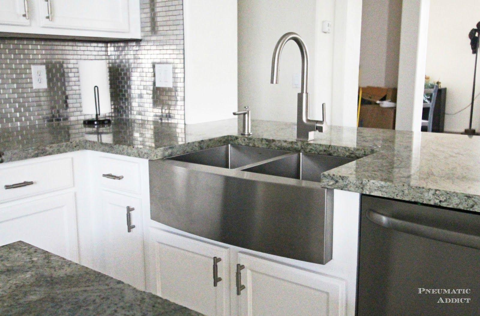 diy-white-kitchen-stainless-farmhouse-sink-WM.jpg (1600×1055 ...