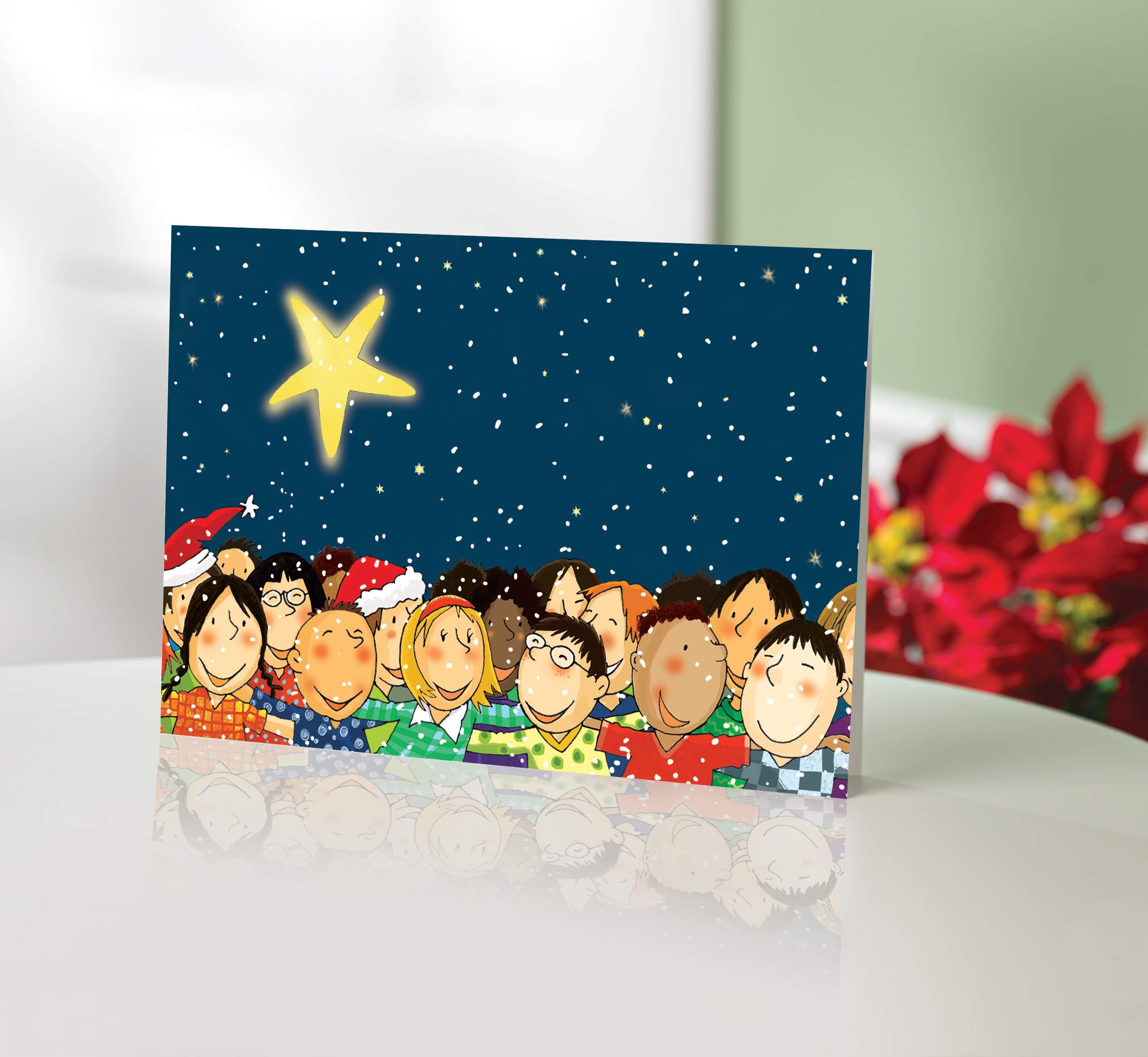 Unicef Charity Christmas Cards (Set of 10), 'Children