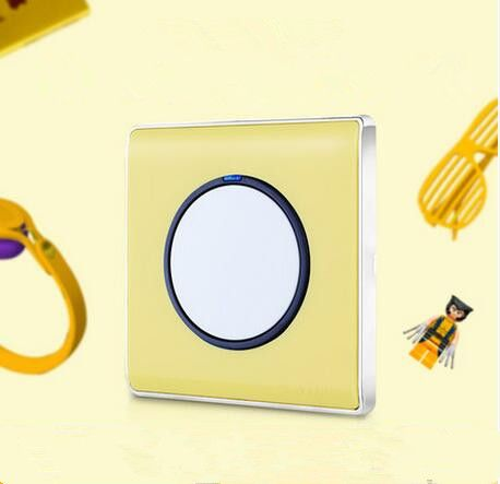 1 Gang 1 Way Light Switch And Lamp Pull Switch Ac110 220v Wall