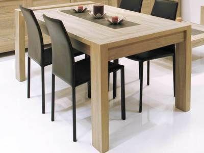 avec bois Table allonge à L180 manger rectangulaire P0kw8nO
