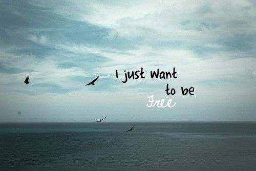 I Just Want To Be Free