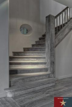 Best Stair Treads To Match Grey French Oak Floors Google 640 x 480