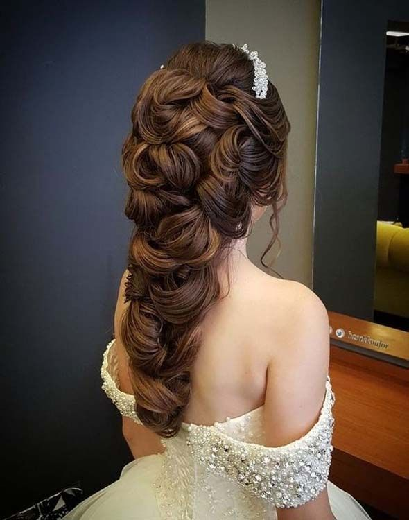 The Most Beautiful Wedding Hairstyles Svadebnye Pricheski Pletenye Pricheski Pricheski