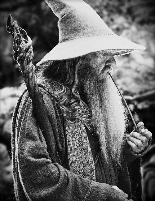 Gandalf- Disturber of the Peace   There Lived A Hobbit   Pinterest ...