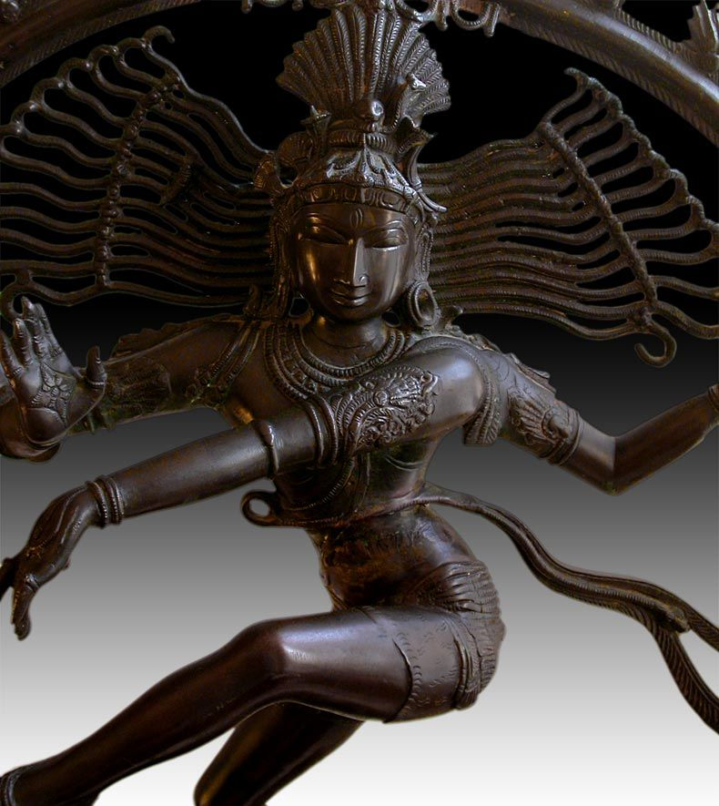 Antique Hindu Bronze Statue