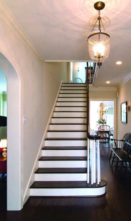 American Style Staircase   Will Have To Do Something Like This For Our New  House (