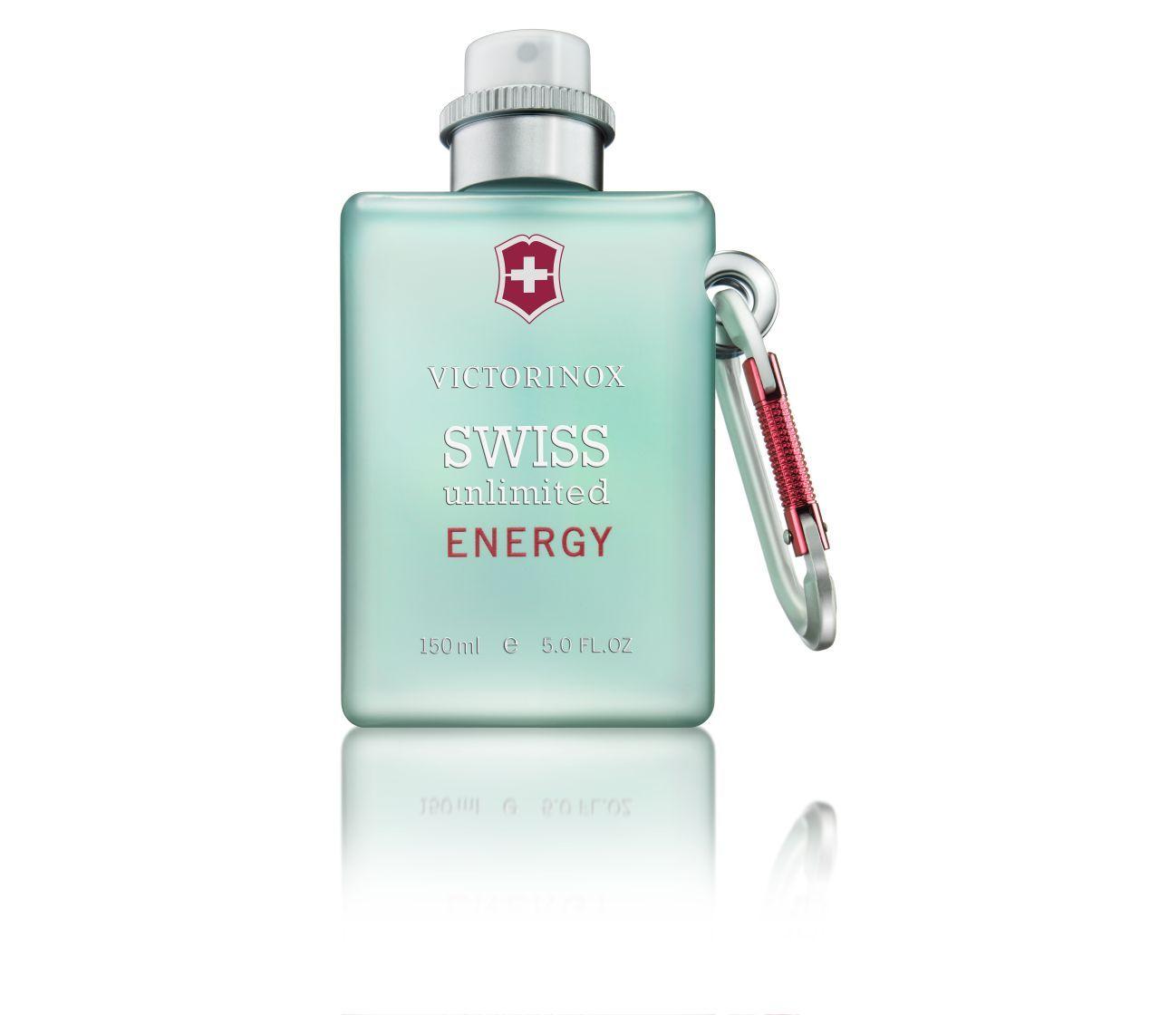 Victorinox Swiss Unlimited Energy Cologne 150ml For Men Light