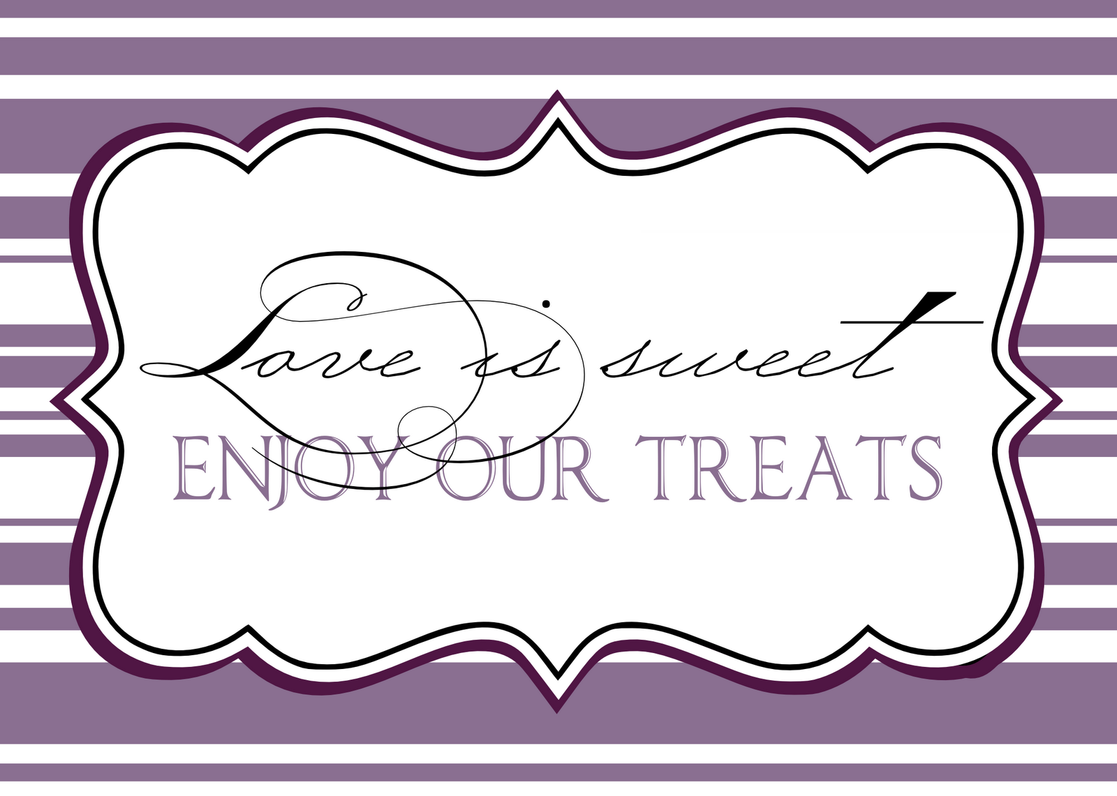 Printables For Candy Jar Labels Buffet Ideas Bridal Shower Bags Personalized