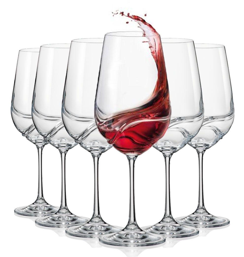 Aurora Series Bohemia Crystal Self Aerating Wine Glasses In 2020 Aerating Wine Glasses Bohemia Crystal Red Wine Glasses