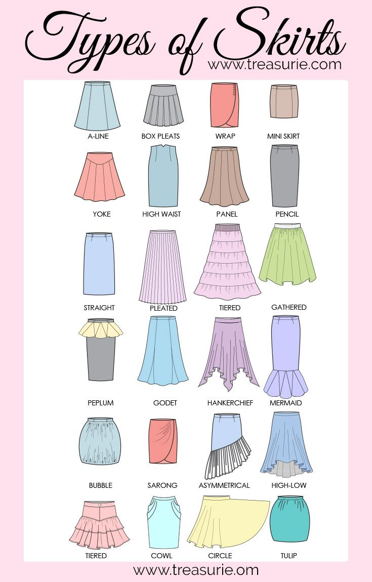 Photo of 21 TYPES OF SKIRTS – A to Z of Skirts | TREASURIE