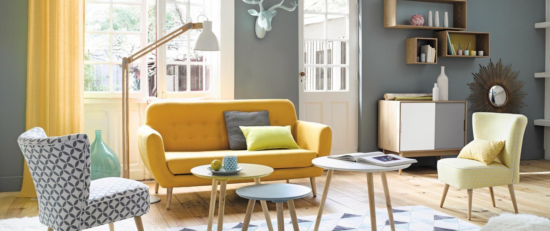 Mieux Que Le Vintage Le Néovintage - Canapé convertible scandinave pour noël deco salon design