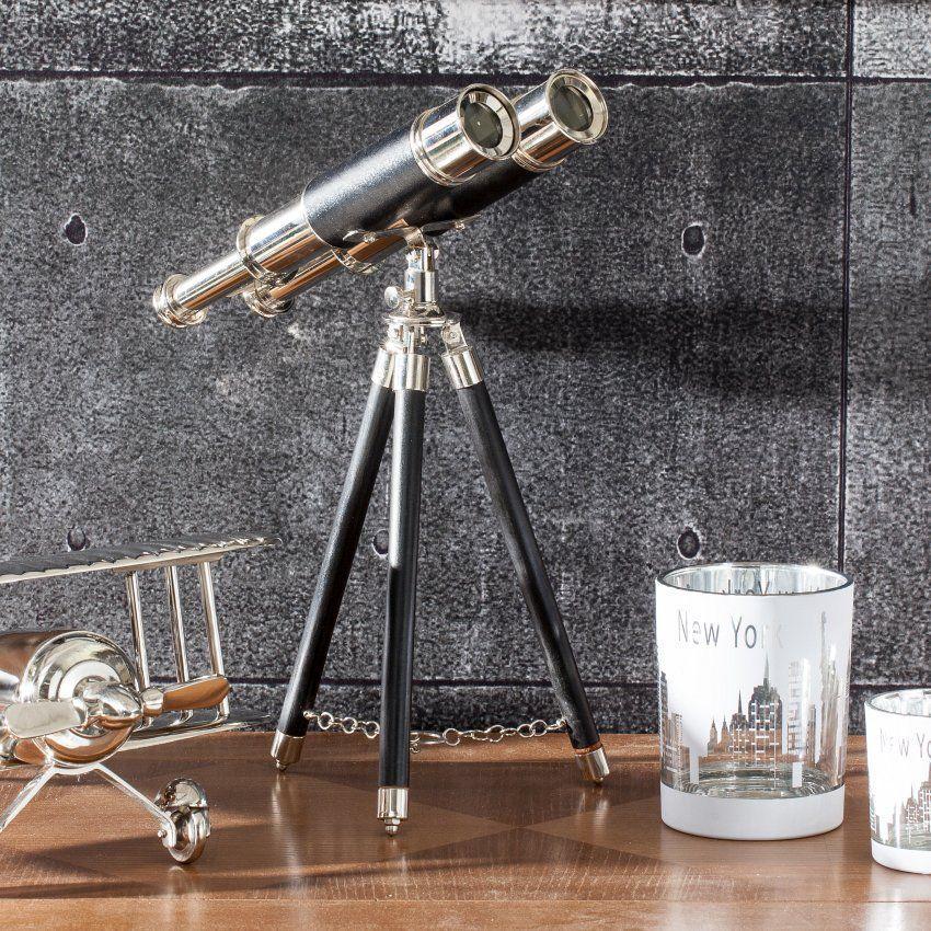 Dekoration Fernglas mit Stativ - Mehr unter: http://www.dekoria.de/offer/product/21967/0/23143/Dekoration-Fernglas-mit-Stativ-34cm