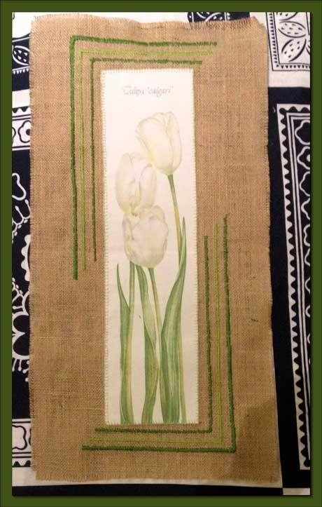 Voglio il mondo a colori Quadro tulipani