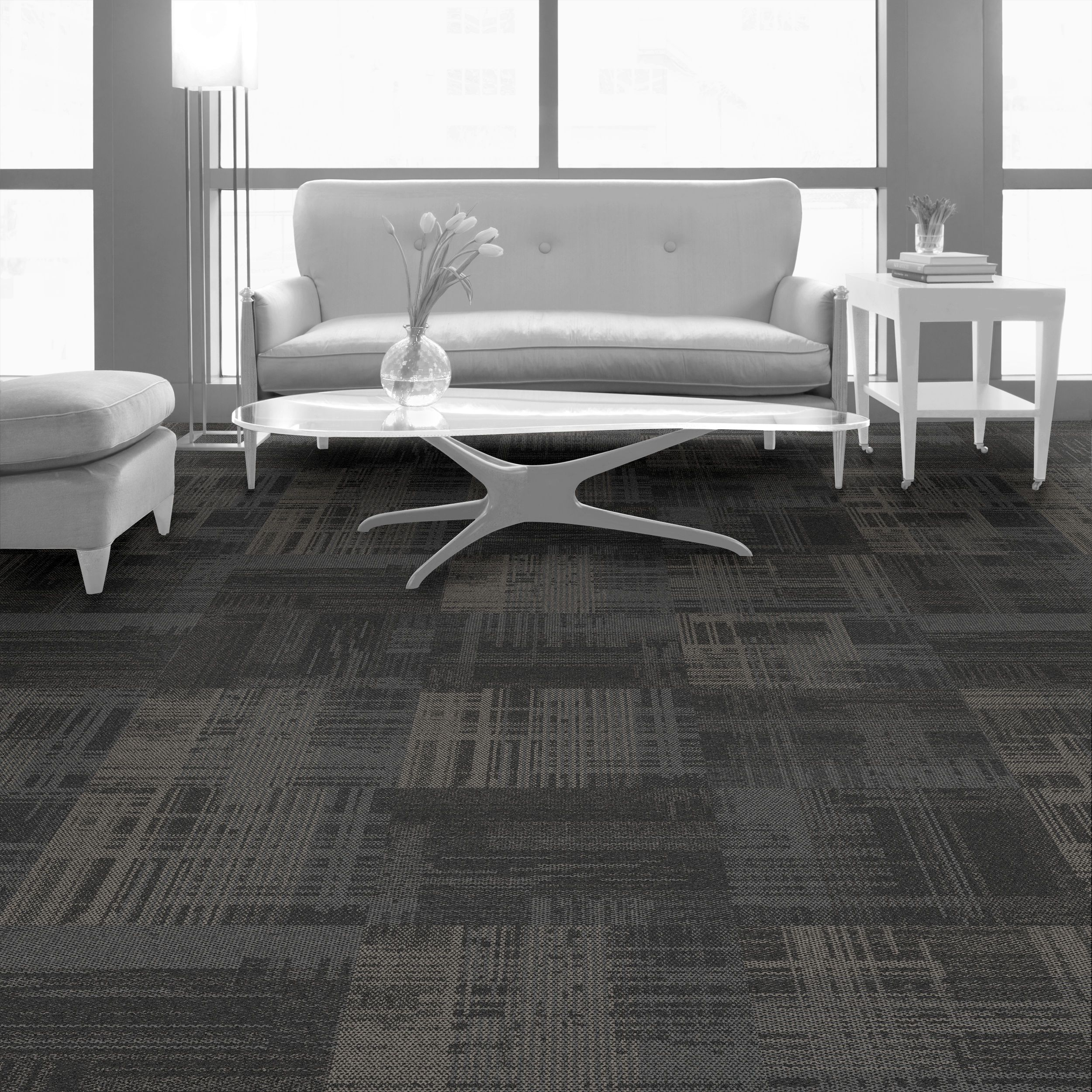 Interface Carpet Tile Ae310 Color Smoke 104627 Installation