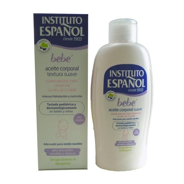 Instituto Espanol Bebe Aceite Corporal Suave Piel Sensible Sin