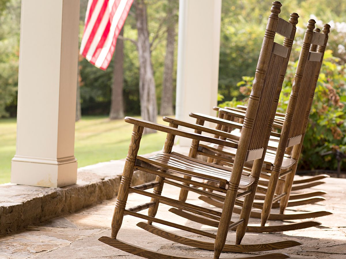Rocking Chairs Indoor Furniture Home Furniture Cracker Barrel Front Porch Decorating Porch Swing