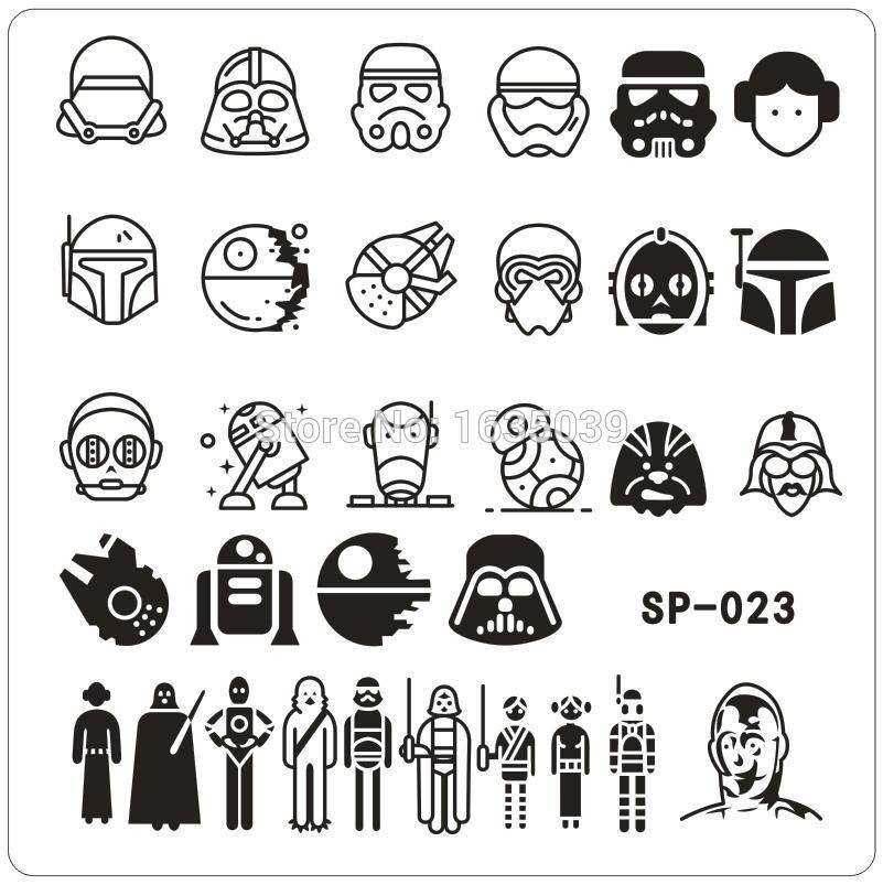 Diy Star Wars Pumpkin Stencils Starwars Com 11