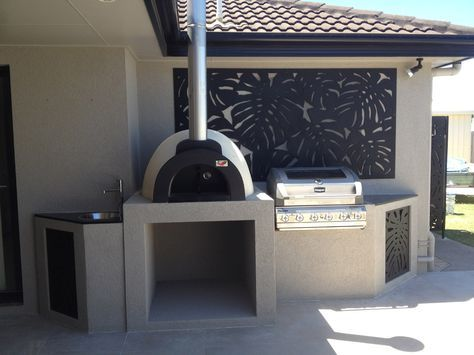 alfresco kitchens woodfired pizza ovens qld allfresco pizza oven outdoor outdoor kitchen on outdoor kitchen queensland id=66007
