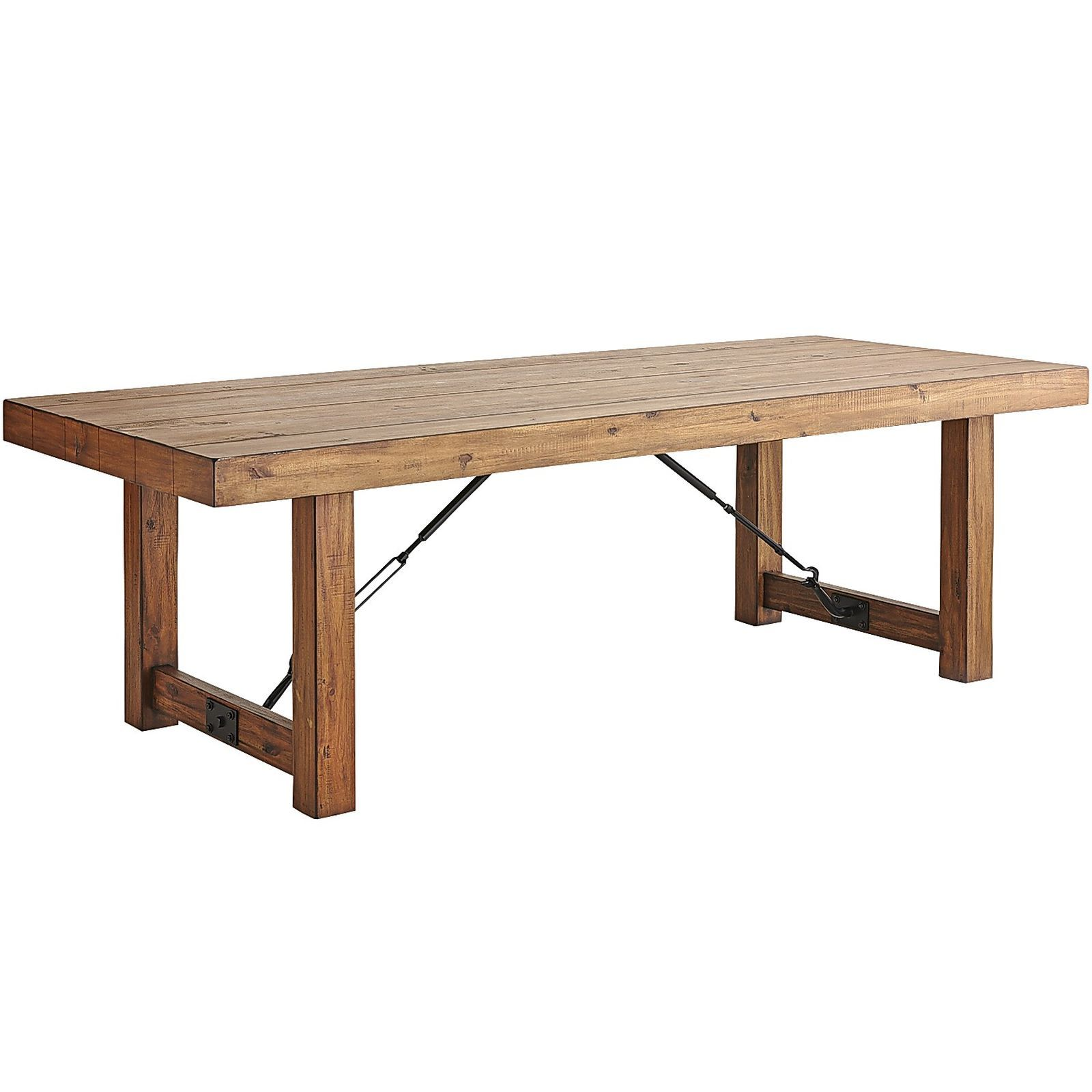 Family Style Meets High In Our Eastwood Dining Table This Chunky Farmhouse