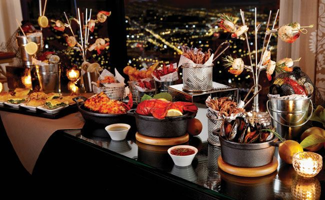 tabletop buffet display options from american metalcraft