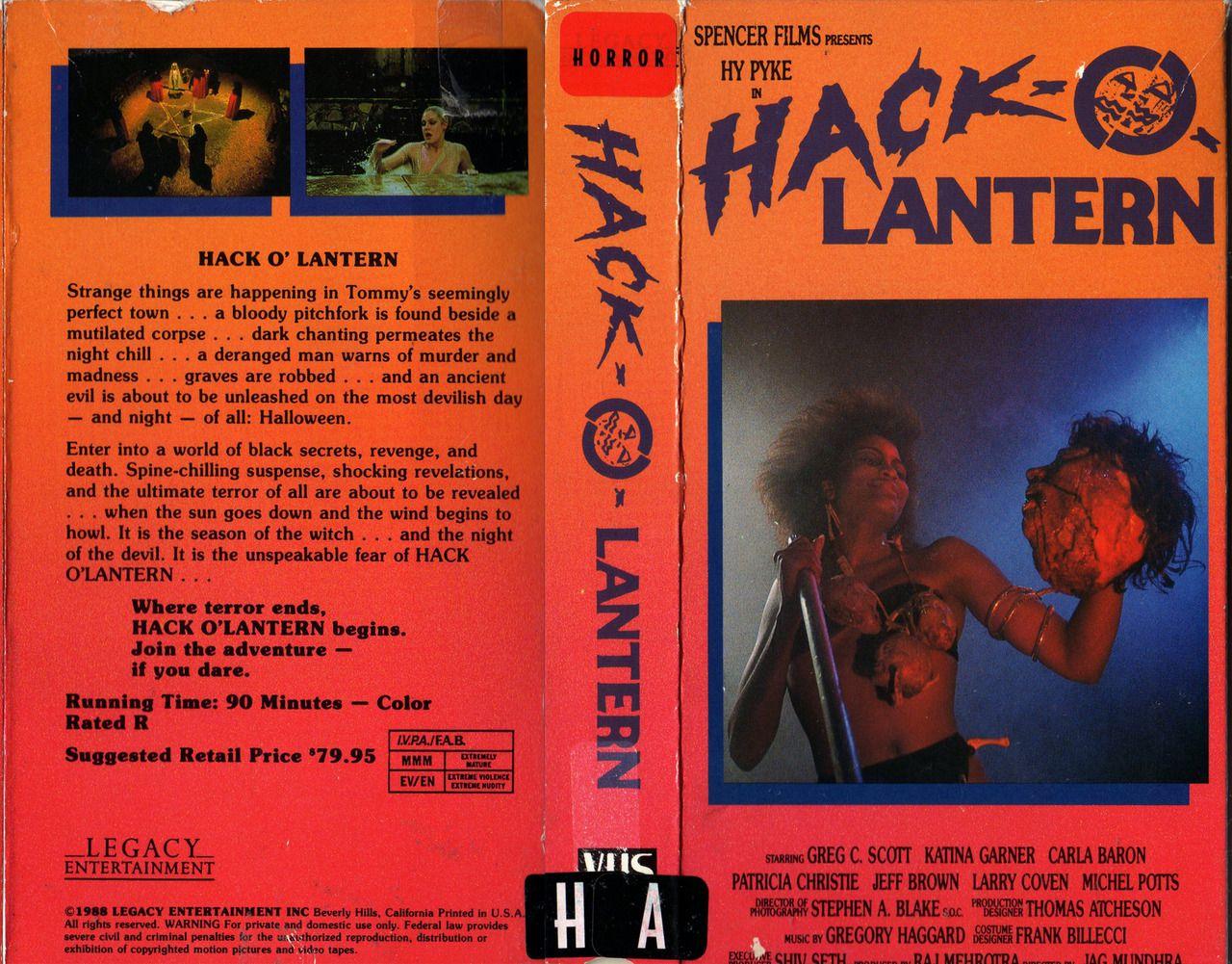 Hack-O-Lantern (1988) Blu-ray