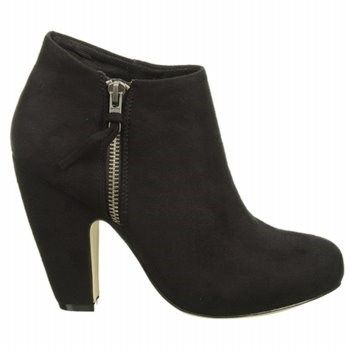 Madden Girl Womens Lopezzz Booties Black