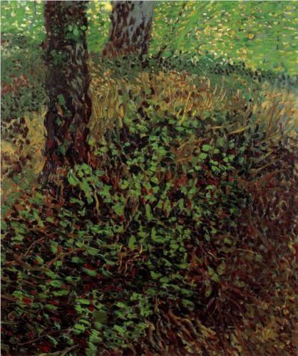 Undergrowth - Vincent van Gogh