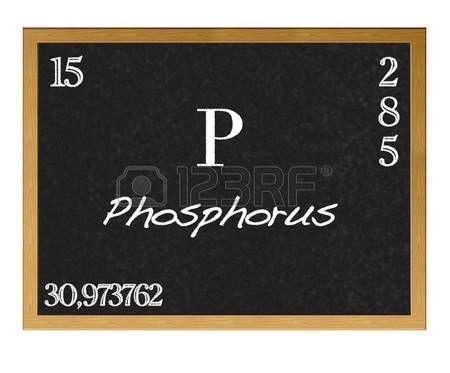 Pizarra aislada con la tabla peridica fsforo phosphorus p pizarra aislada con la tabla peridica fsforo phosphorus p urtaz Image collections