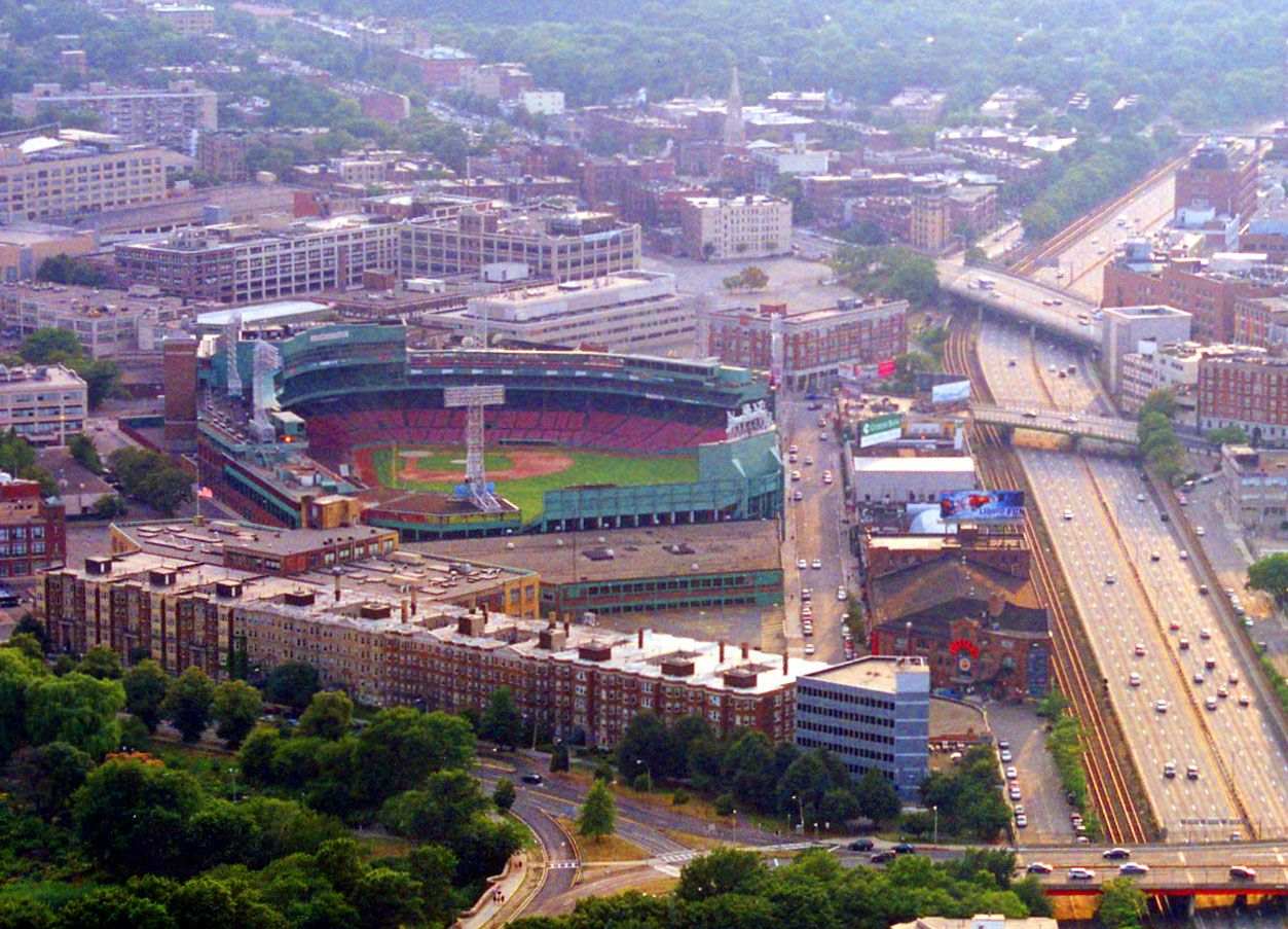 Fenway Park- would love to see the Red Sox play here someday.