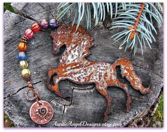 Rainbow Bridge Horse Ornament, Personalized Horse Sympathy Gift, Custom Horse Memorial, Horse at Rainbow Bridge, Death of Horse, Horse Loss | Rainbow bridge ...